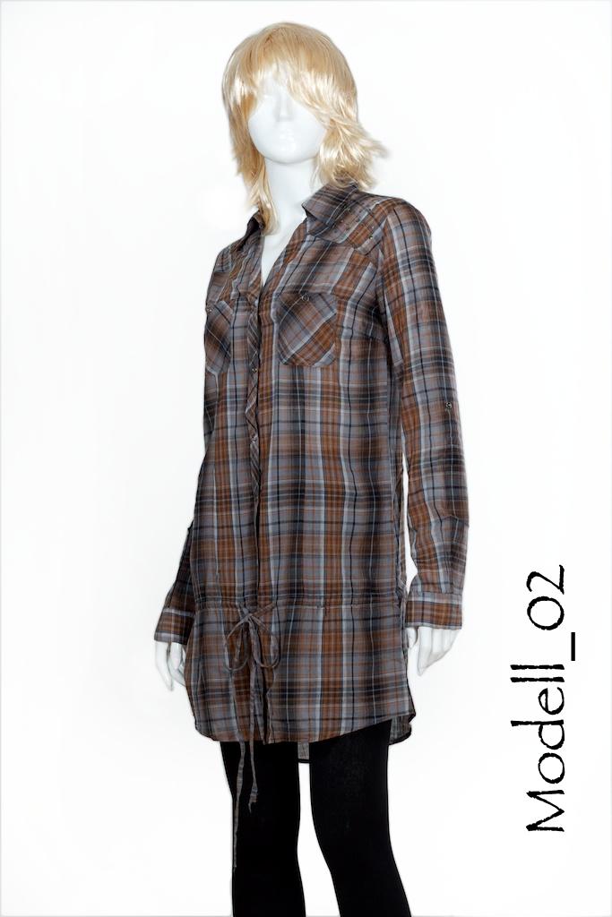 tunika long hemd hemdkleid longshirt vintage bluse m dchen girls damen neu top ebay. Black Bedroom Furniture Sets. Home Design Ideas