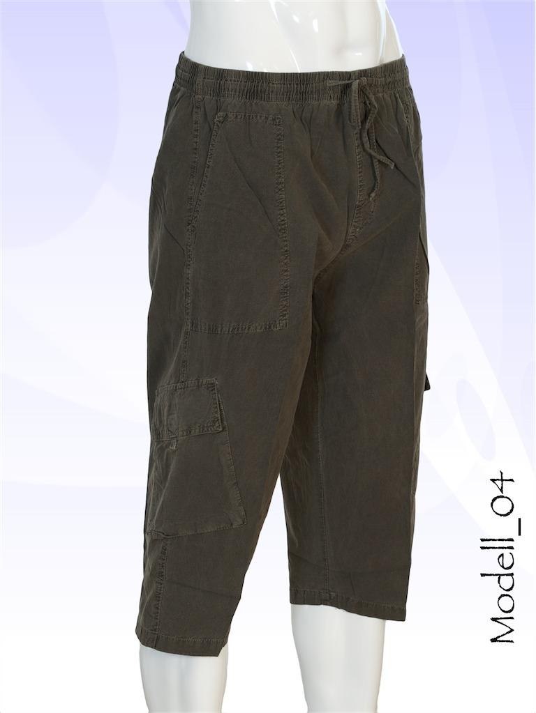 herren shorts bermuda cargo kurze hose 3 4 urban vintage. Black Bedroom Furniture Sets. Home Design Ideas